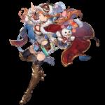 【グラブル】季節限定も取れると情報があったアニバチケ、人気どころはクリスマスマリーや水着ディアンサの2人か?