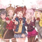 【グラブル】五花メンバーのお花見イラストが公式Twitterで公開!やっぱり巫女様は最高だな!