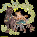 【グラブル】亥キャラがぽっちゃり系か褐色というイメージが持たれやすい風潮