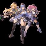 【グラブル】レヴィオン三姉妹は意外と使えそう、団長のアルベールより強いよな
